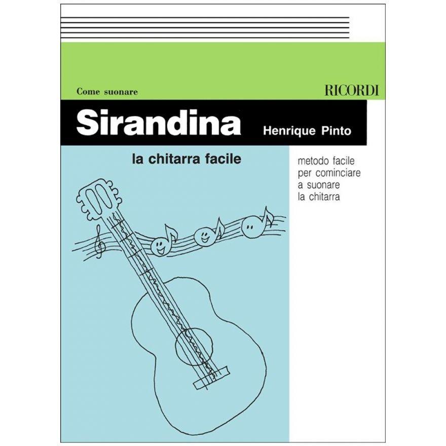 1 H. Pinto Ricordi Sirandina La Chitarra Facile Spartito