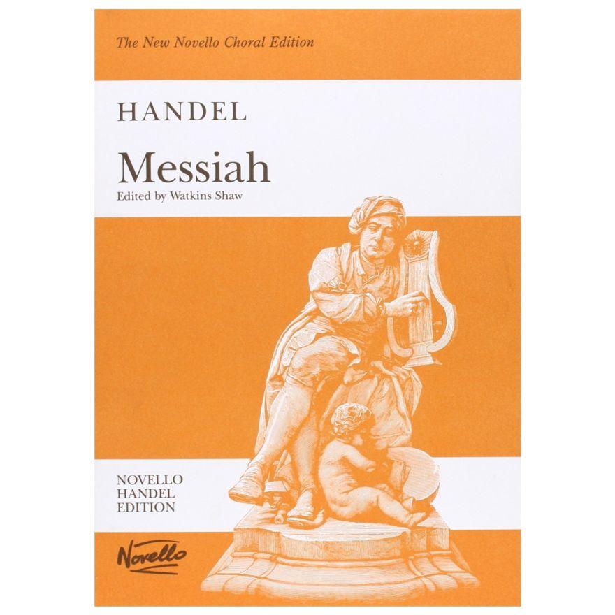 1 Handel Messiah Watkins Shaw Spartito per Pianoforte