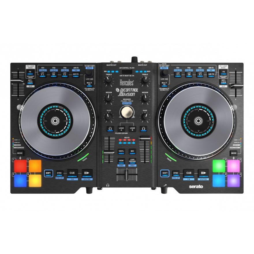 ERCULES DJ Control Jogvision vista alta