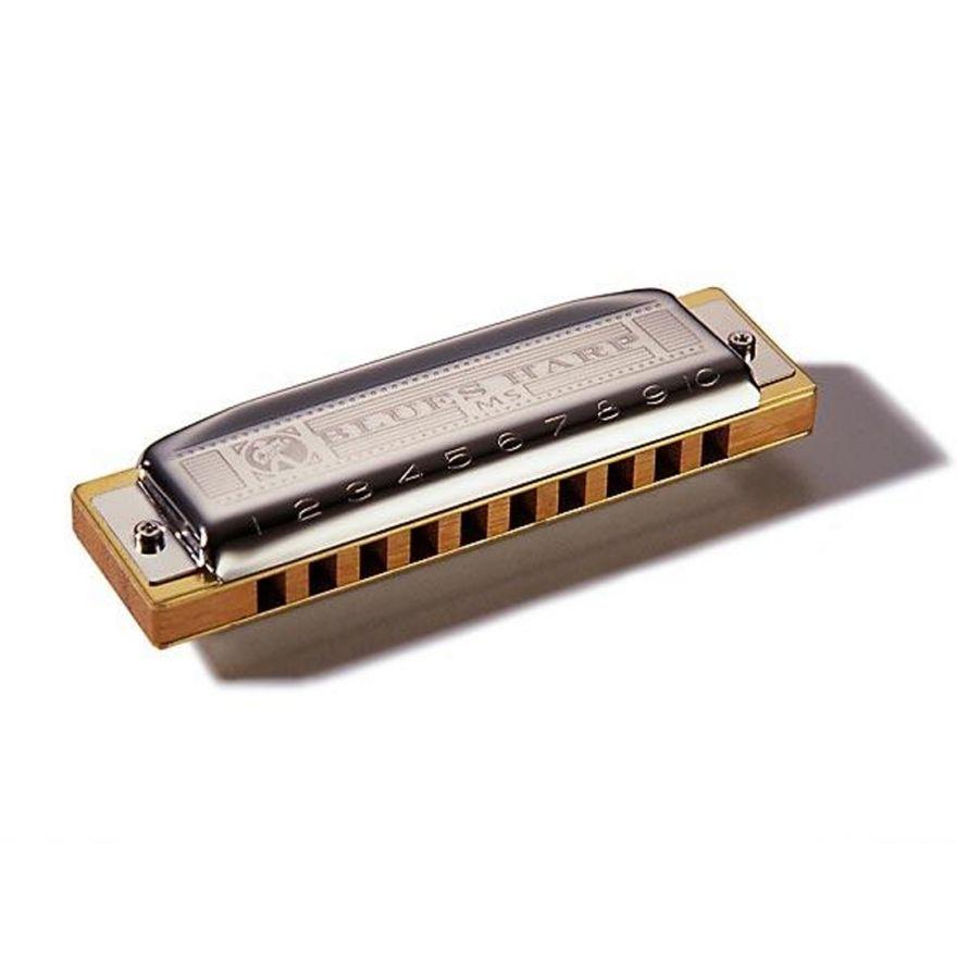 Hohner M533016 - Armonica Blues Harp MS - Tonalità C >Do