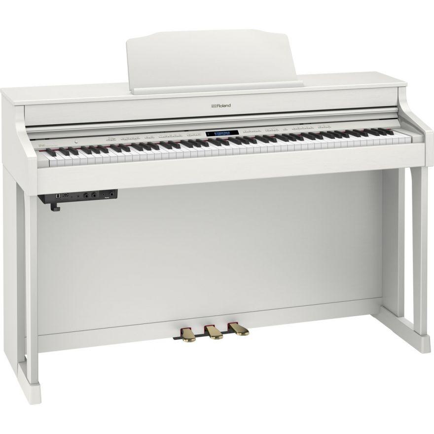 Roland HP603A WH - Pianoforte Digitale Bianco Satinato