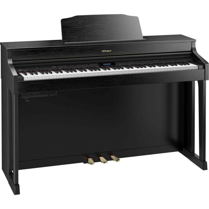Roland HP603A CB - Pianoforte Digitale Nero Satinato01