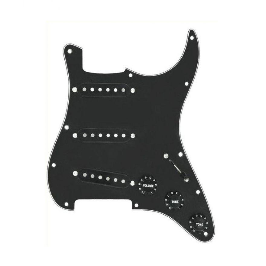 DiMarzio FG2108BA3 - Battipenna Pre-Cablato per Strato Nero