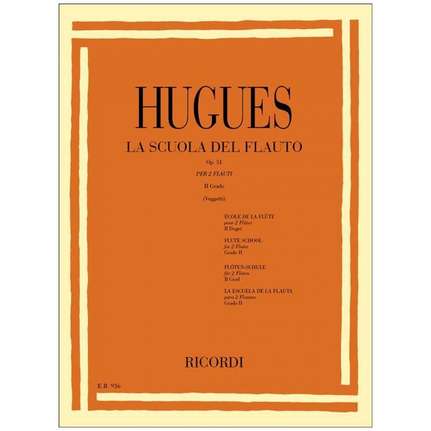 1 Hugues La scuola del Flauto Op. 51 II Grado Ricordi