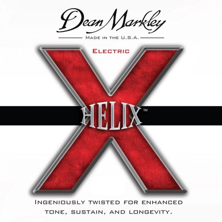 DEAN MARKLEY - NPS Electric HELIX HD™- Nickel Plated Steel Elliptical Wound, Custom Light