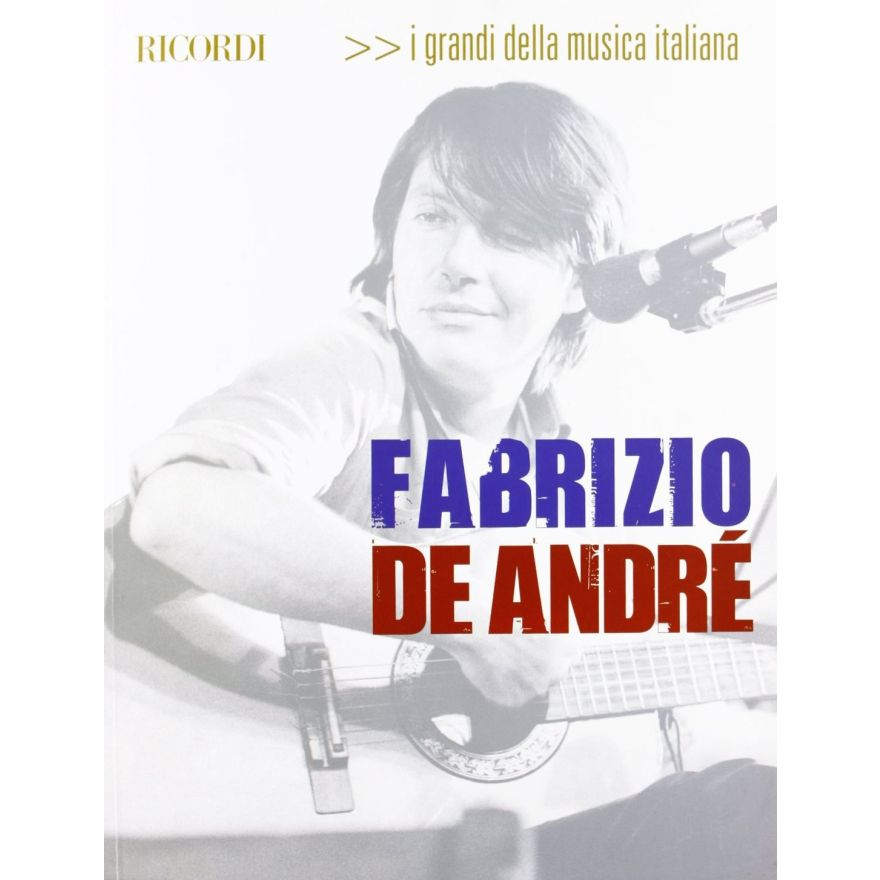 I grandi della musica italiana fabrizio de andrè