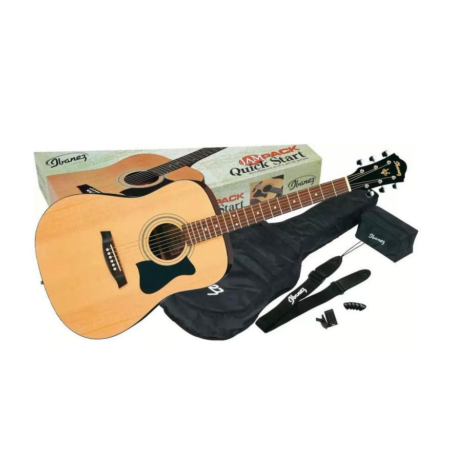IBANEZ chitarra classica set completo natural