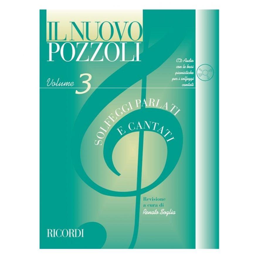 Ricordi Il Nuovo Pozzoli: Solfeggi Parlati E Cantati Volume 3