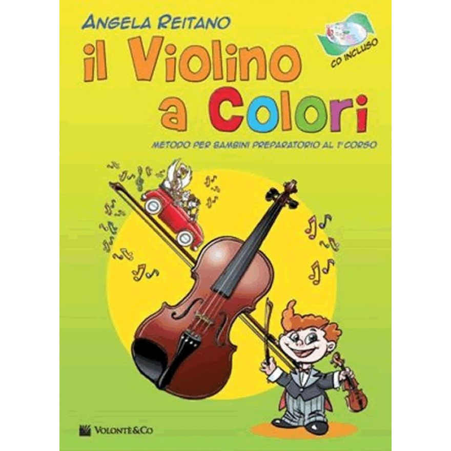 il violino a colori reitano angela