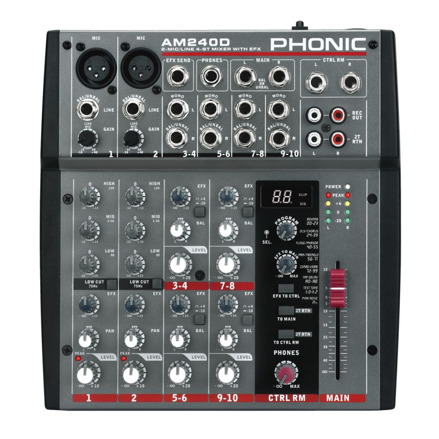 am240d phonic