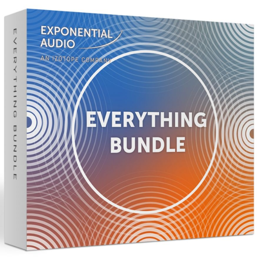 iZotope Exponential Audio Everything Bundle - Software di Produzione Musicale