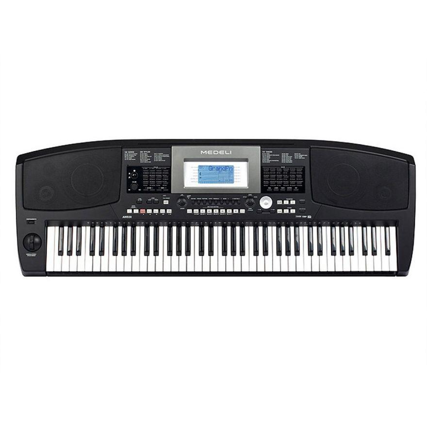 """0 MEDELI AW830 - Tastiera Arranger Professionale A 76 Tasti Con Tecnologia """"Touch Response"""""""