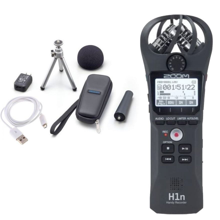 Zoom H1n con Kit Accessori APH-1n
