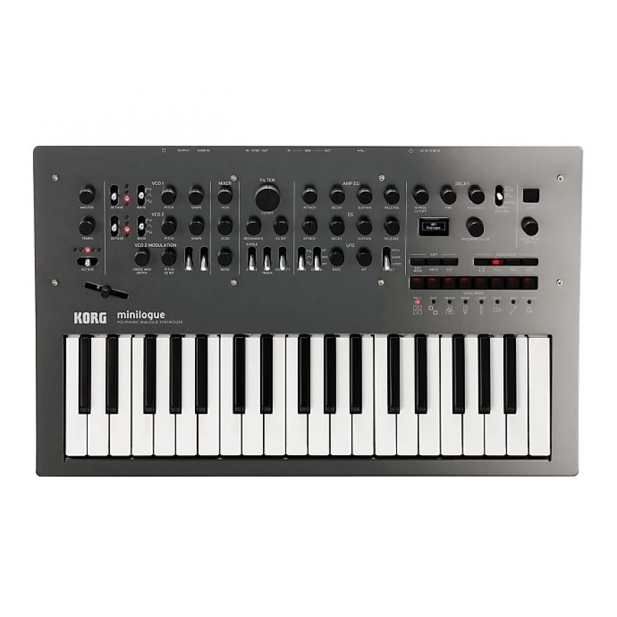 Korg Minilogue Polished Gray - Sintetizzatore