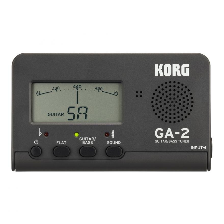 KORG GA-2 MG - Accordatore per Chitarra / Basso Matte Grey