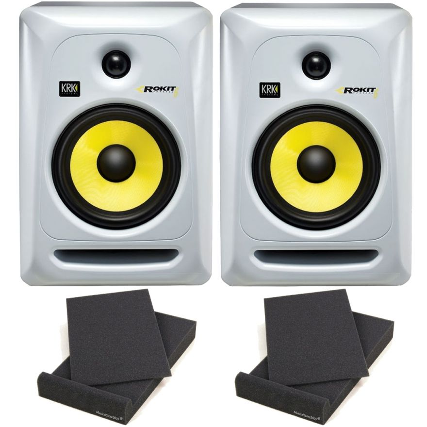 KRK RP6 Rokit G3 W Coppia Monitor Studio Attive DJ 70W