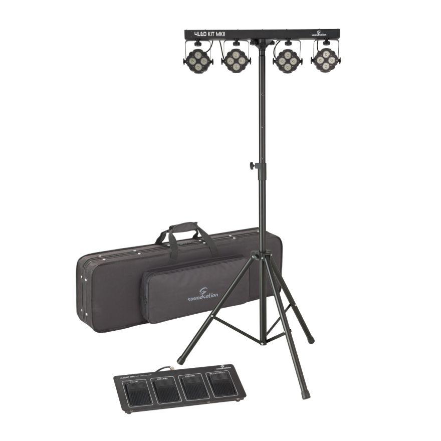 0 SOUNDSATION - Kit 4 pannelli LED Compatto