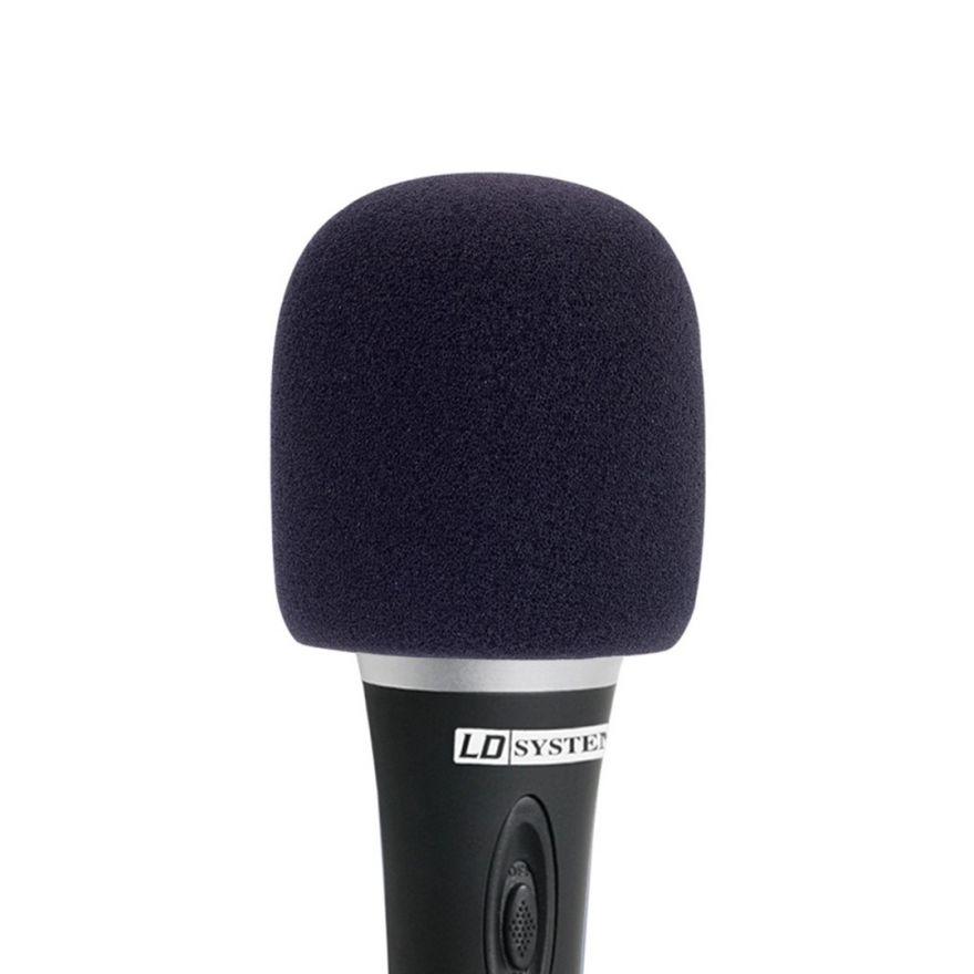 LD Systems D 913 BLK - Antivento per Microfoni Gelato