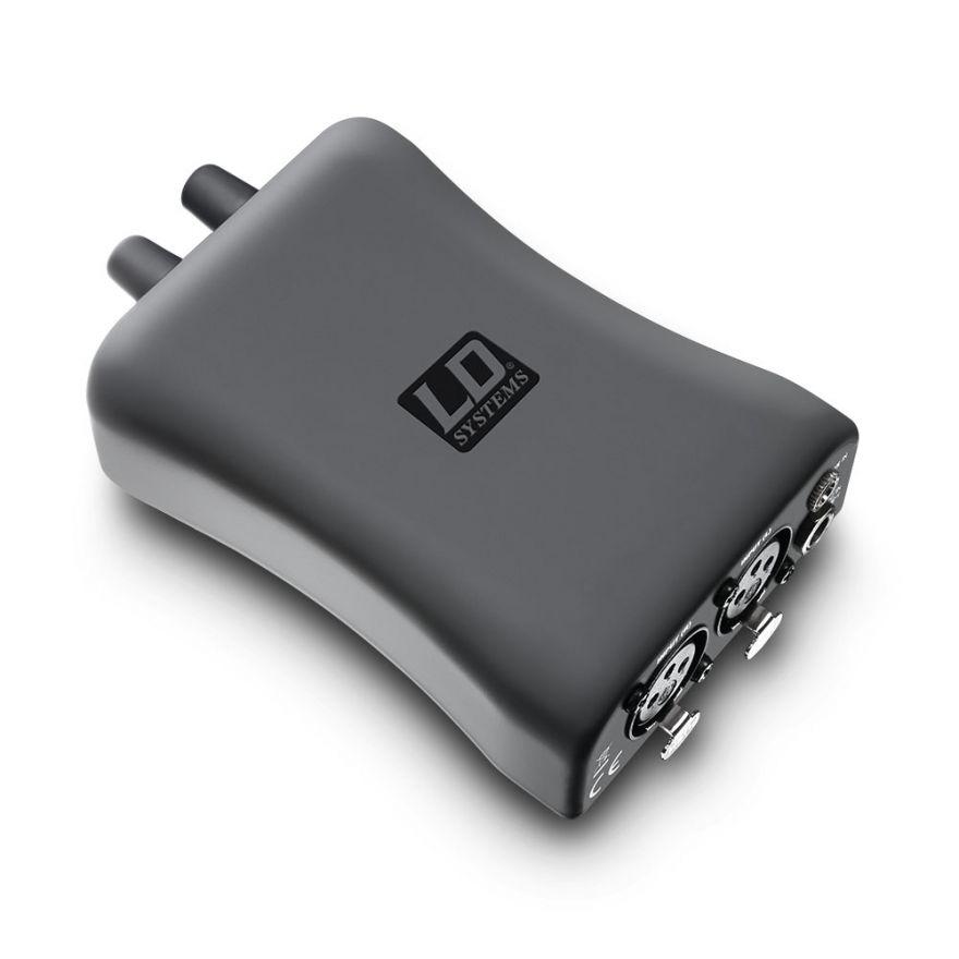 0 LD Systems HPA 1 - Amplificatore per cuffie e IEM a cavo
