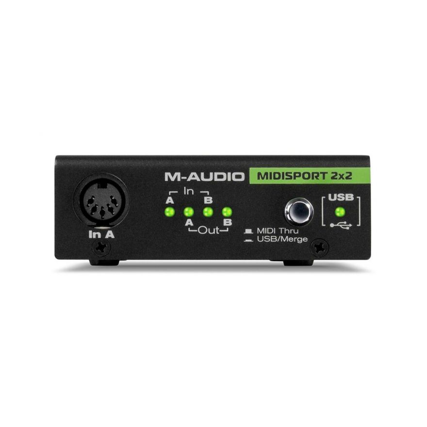 M-Audio MidiSport 2x2 USB Anniversary Edition - Interfaccia MIDI/USB