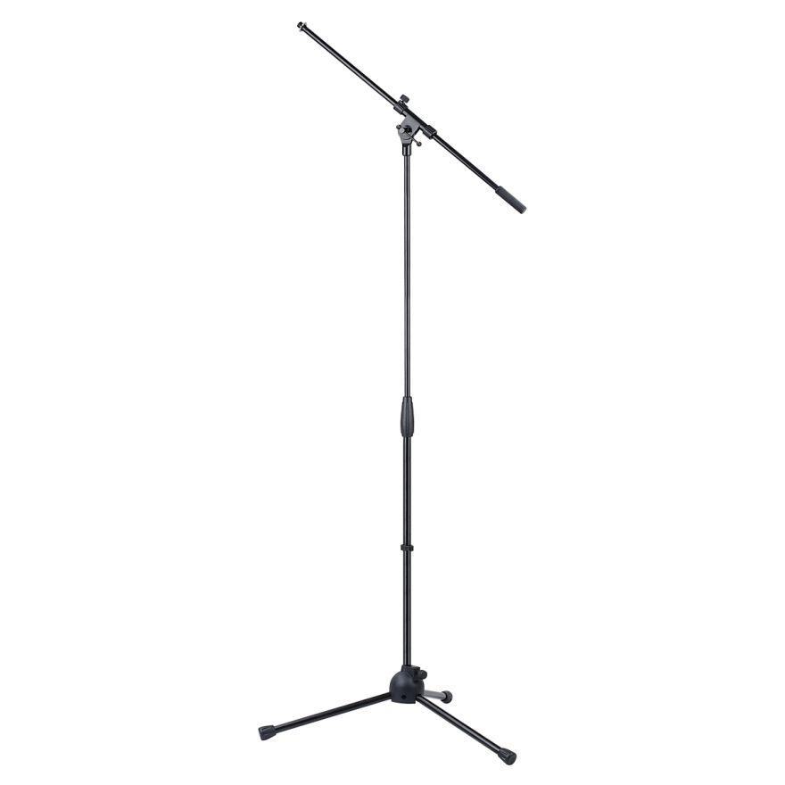 0 SOUNDSATION - Asta microfonica a giraffa telescopica con base tripode