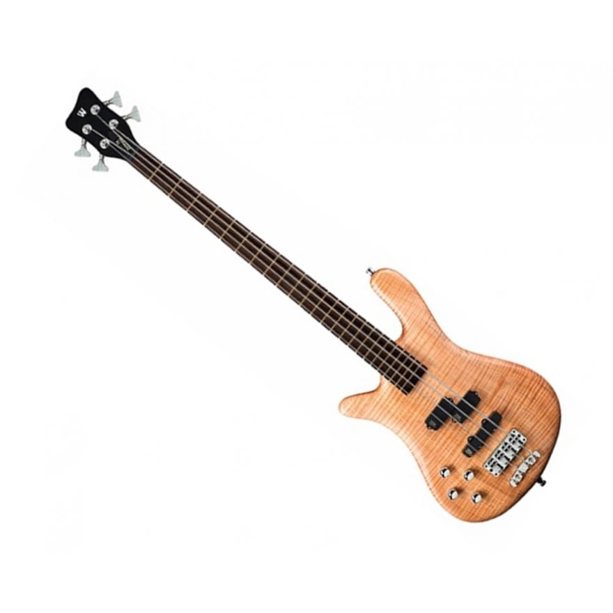 WARWICK GPS STREAMER LX 4 NATURAL LEFT-HANDED - Basso Elettrico Mancino 4 Corde Natural