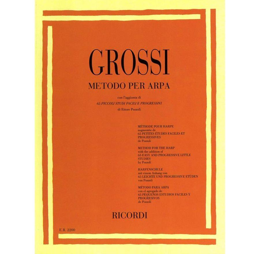 1 Maria Grossi Ricordi Metodo per Arpa Spartito