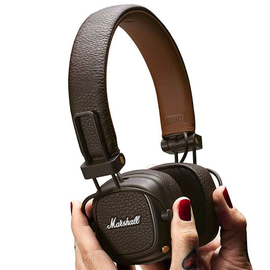 Marshall Headphones Lifestyle Major III Bluetooth Brown - Cuffie Bluetooth