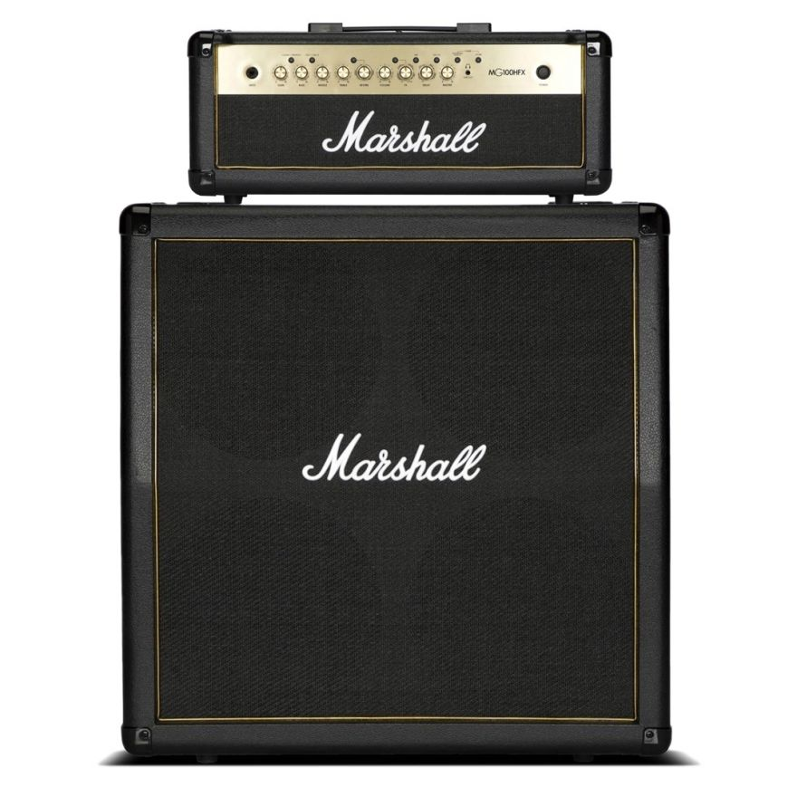 Marshall MG 100 HGFX MG Gold Pack - Testata per Chitarra 100W con Cabinet
