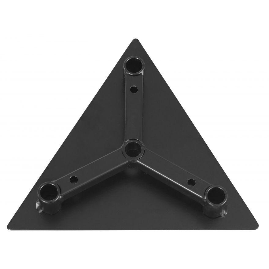 Showtec - Base Plate for MDT - Triangolare, metallo, Deco-20