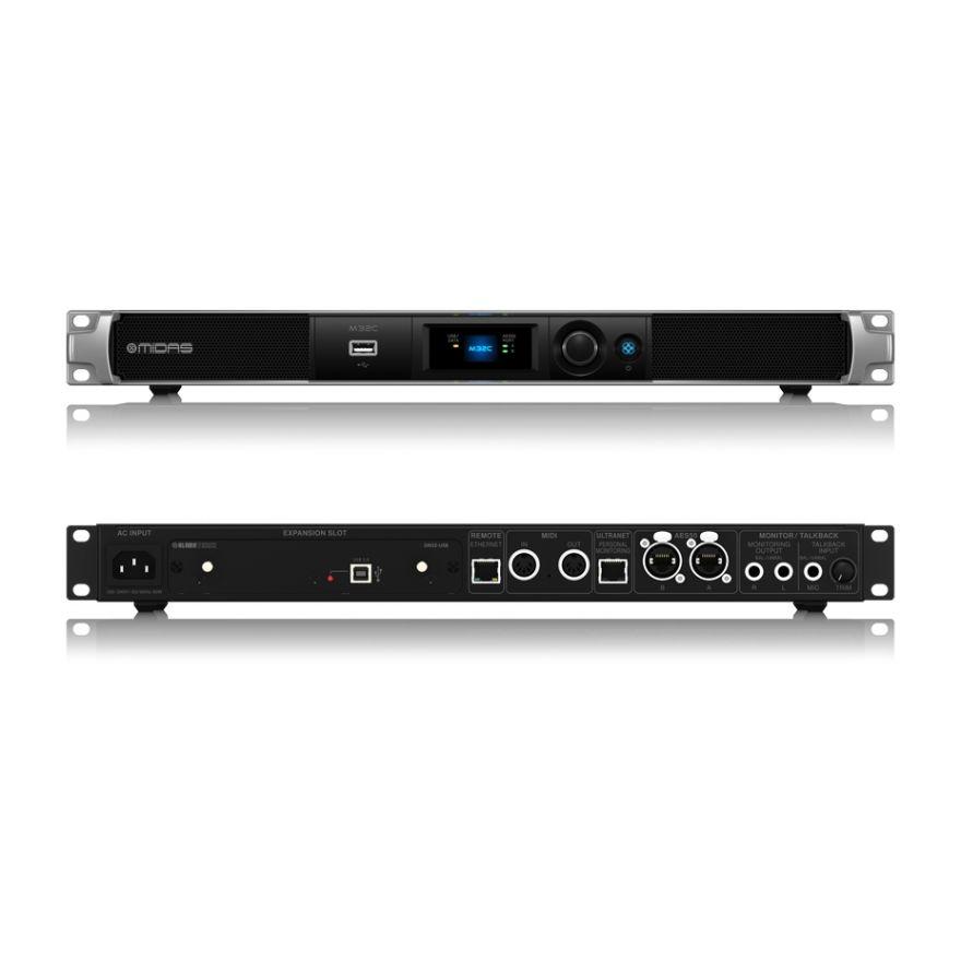 Midas M32C - Mixer Digitale a Rack 40 Ch