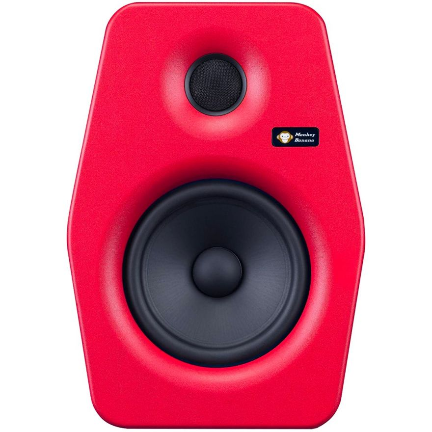 Monkey Banana Turbo 6 Red - Monitor Cassa da Studio Attiva Biamplificata 90W