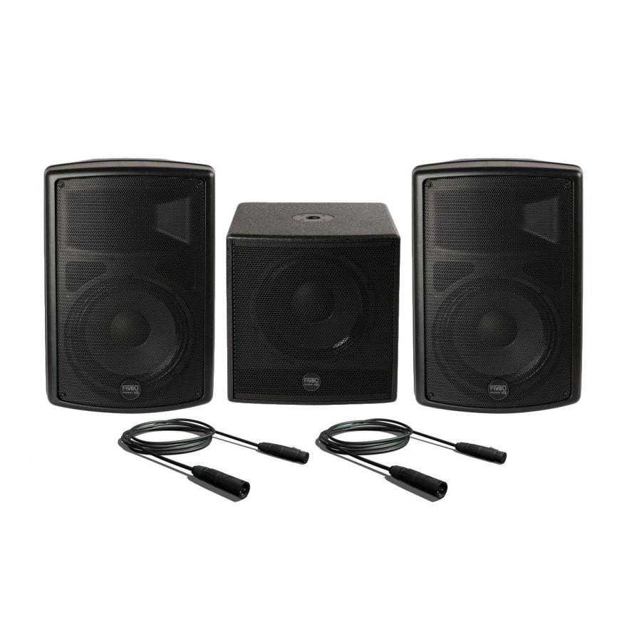 Montarbo FiveO Sistema Audio Completo 1100W RMS