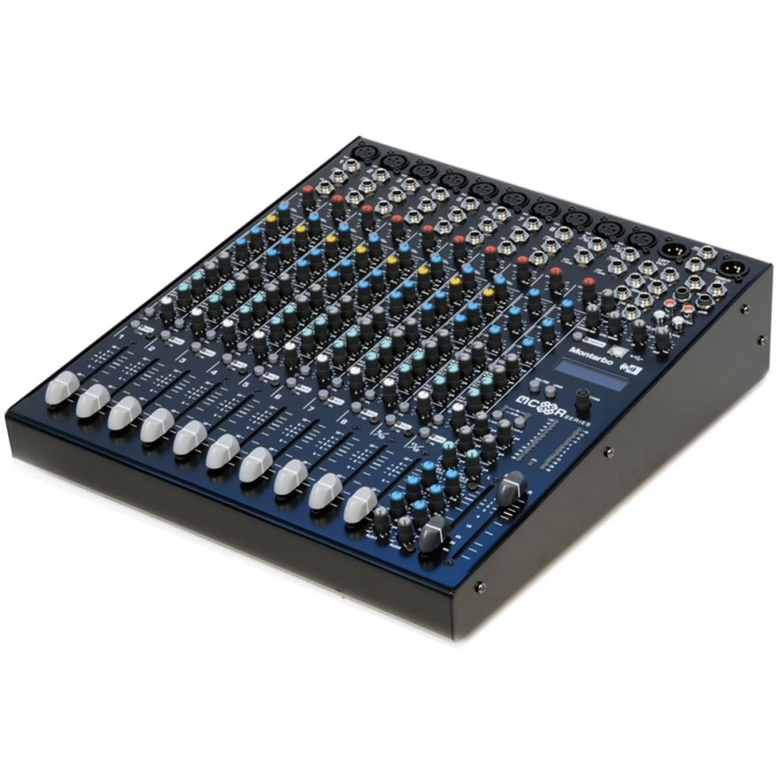 Montarbo MC-R12FXP - Mixer Amplificato 750 + 750W @ 4 Ohm