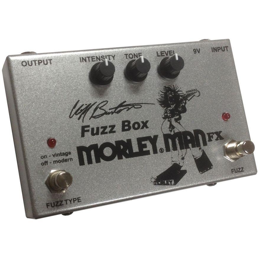 Morley Man FX Cliff Burton Fuzz Box - Effetto Fuzz per Basso