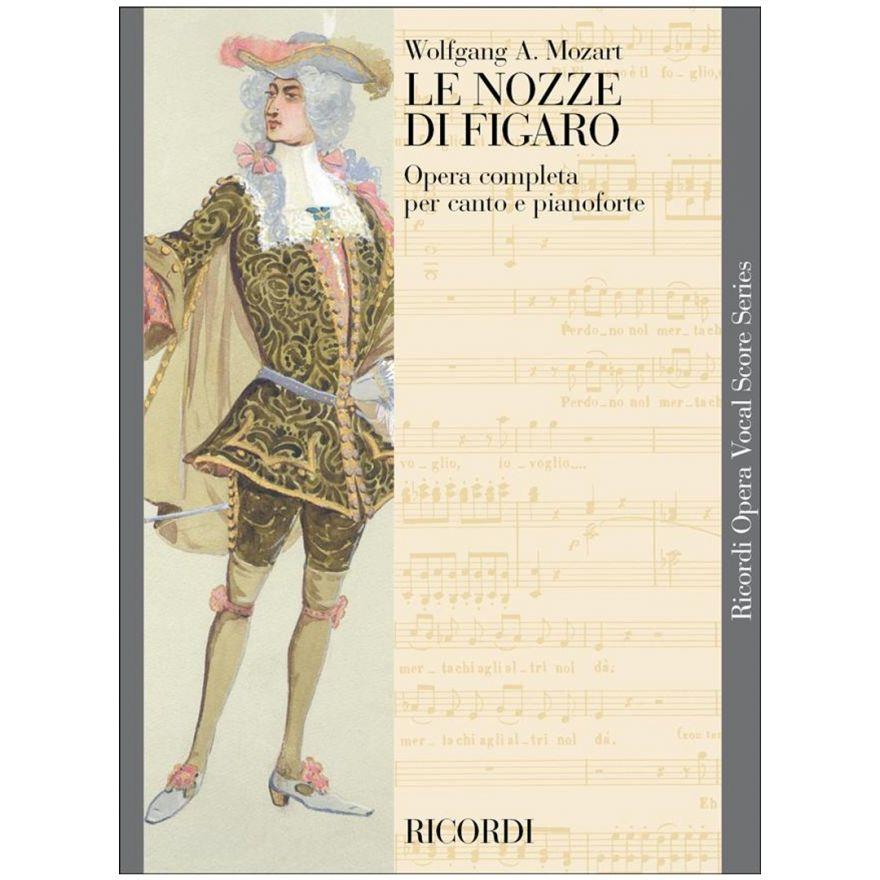 1 Mozart Le Nozze di Figaro Ricordi Spartito per Canto e Pianoforte