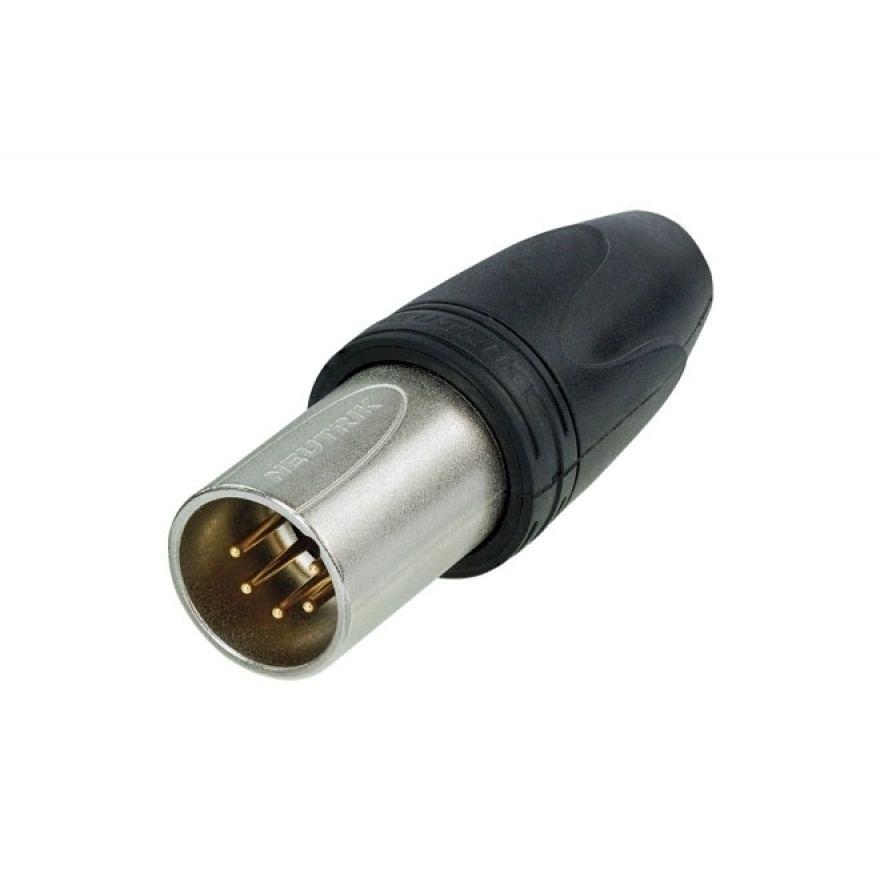 Neutrik - XLR 5p. Connector Male IP65 - 5P