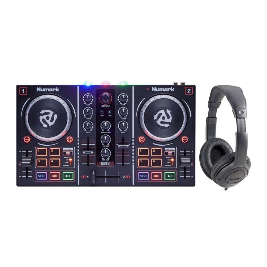 NUMARK Party Mix Controller MIDI/USB / Cuffia per DJ