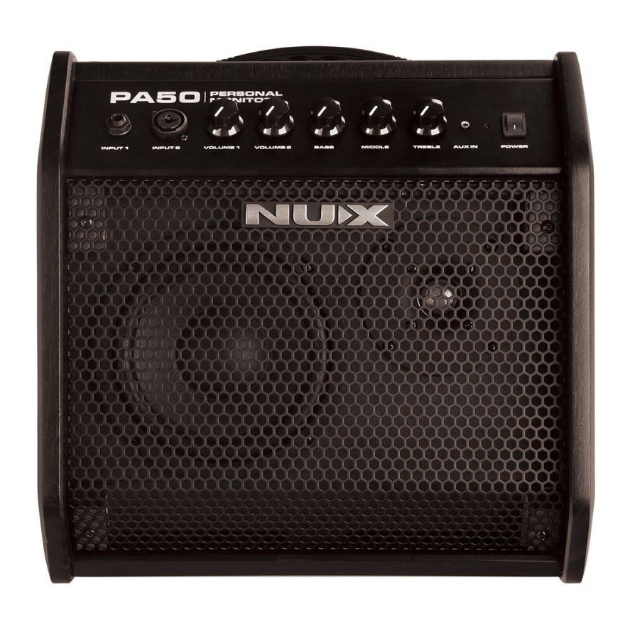 Nux PA-50 - Monitor Attiva Full Range 500W