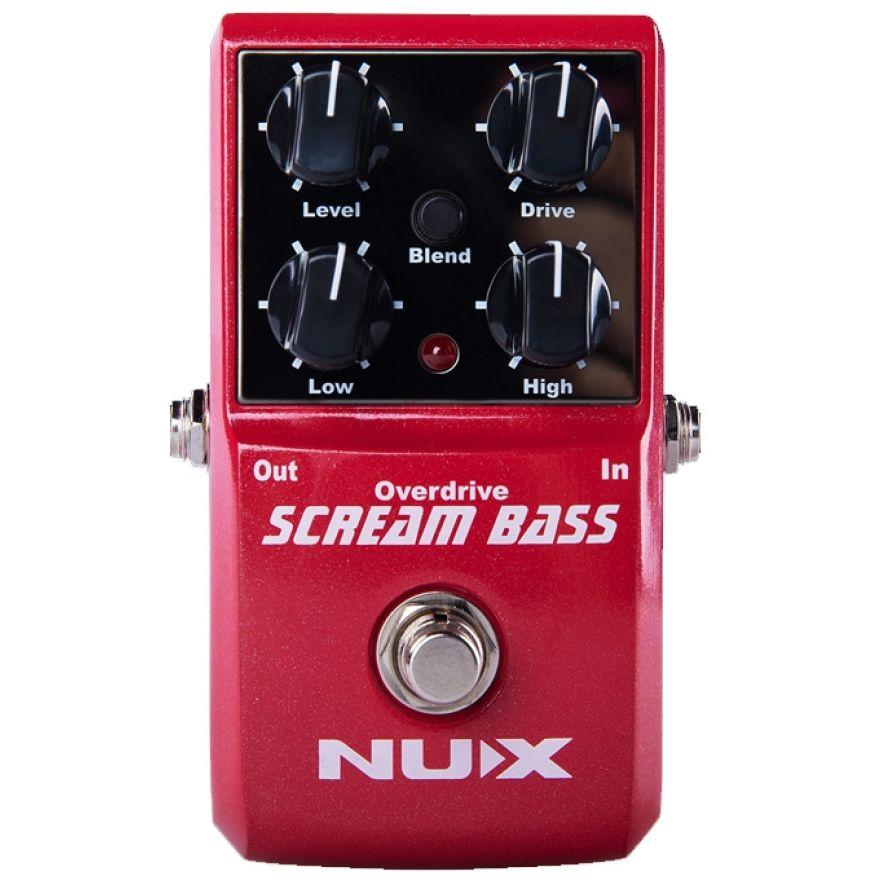 NUX SCREAM BASS - Overdrive per Basso