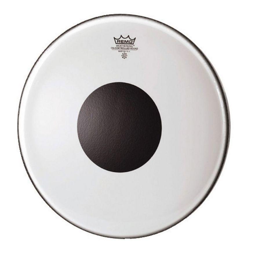 "REMO CS-0316-10 Pelle per Batteria CS Controlled Sound Black Dot 16"""