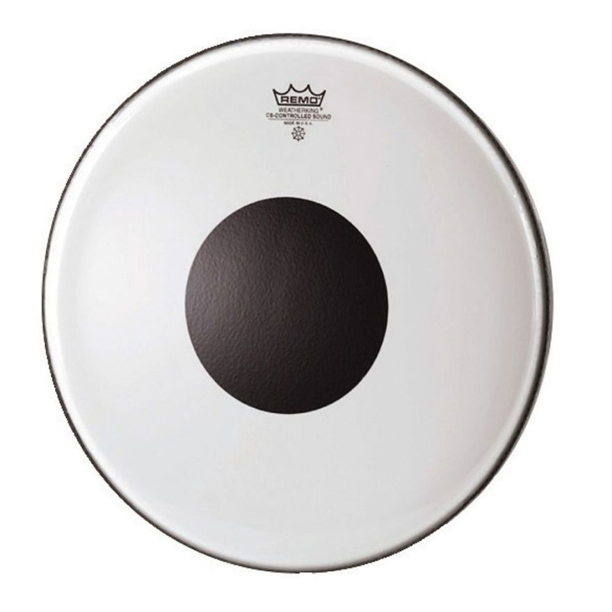 REMO CS-0314-10 Pelle per Batteria CS Controlled Sound Black Dot 14""