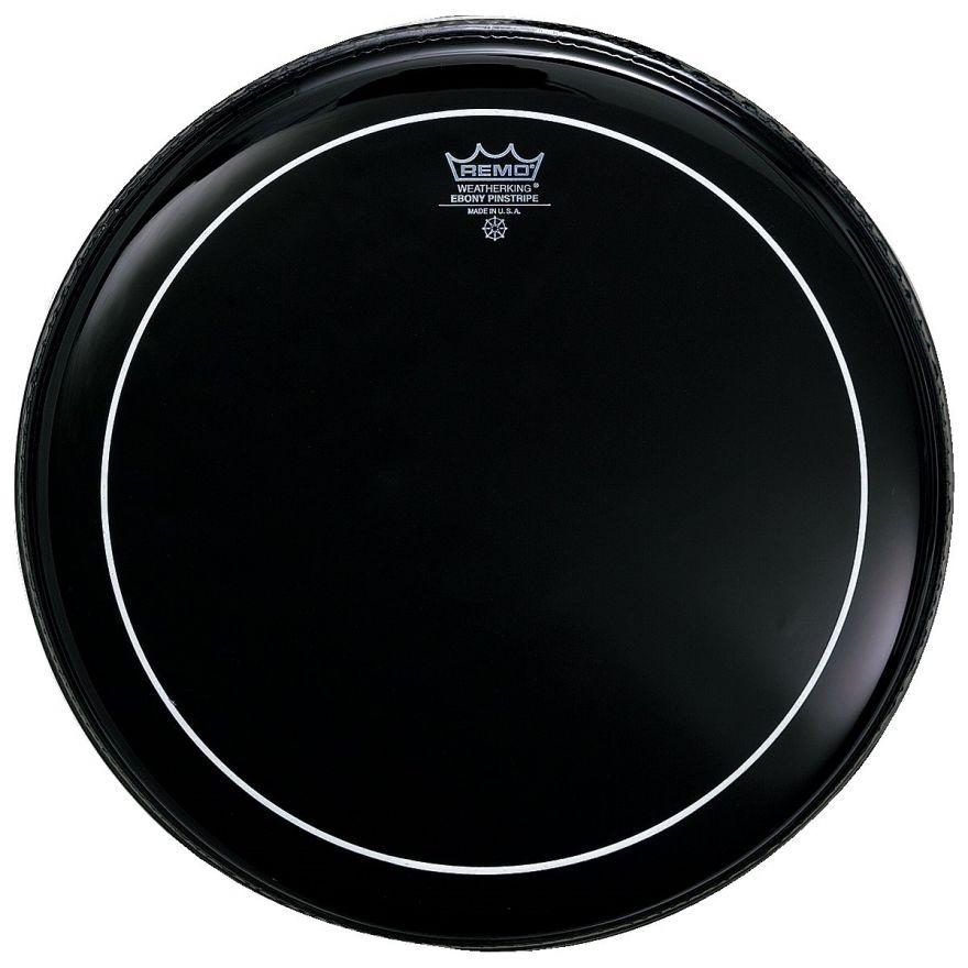 """Remo ES-0612-PS Pelle per Batteria Ebony Pinstripe 12"""""""