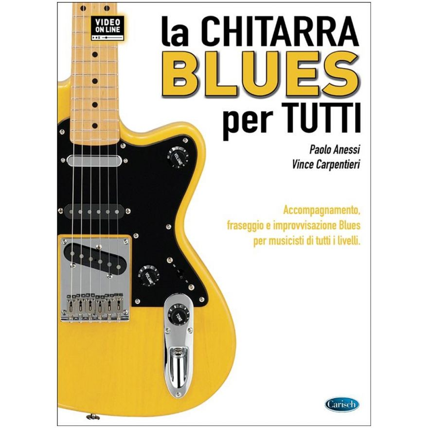 1 P. Anessi Carisch La Chitarra Blues per Tutti Manuale