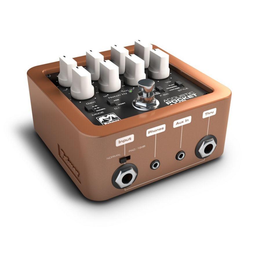 Palmer MI Pocket Amp Acoustic - Preamplificatore Portatile