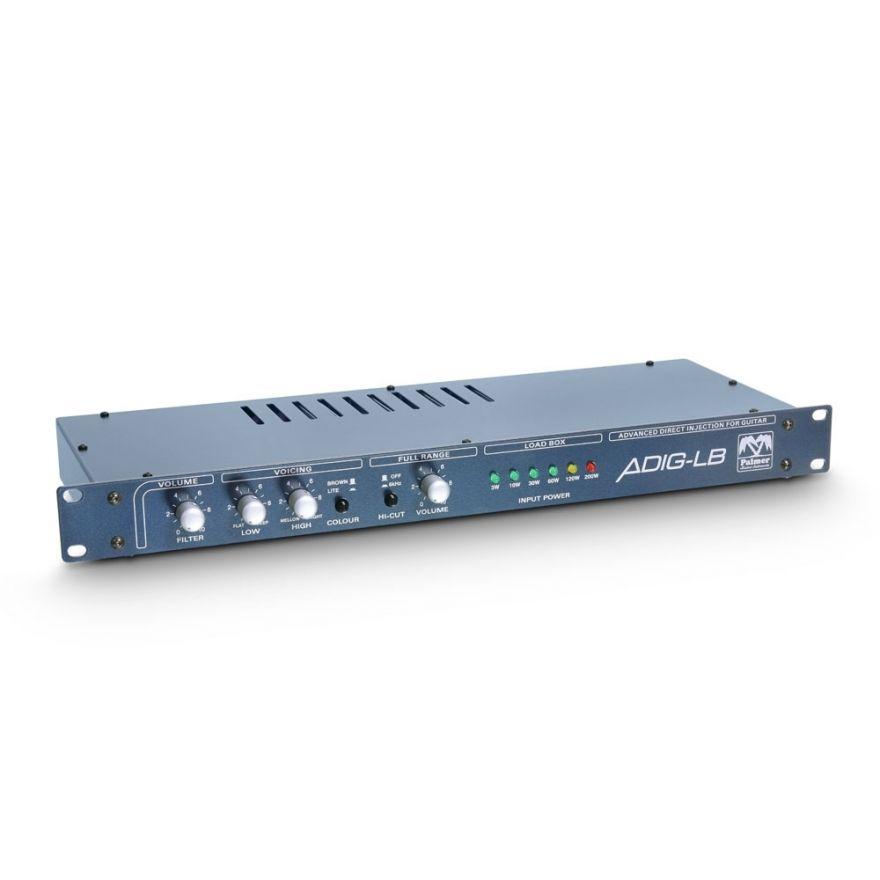 Palmer MI PGA 04 - Speaker Simulator con Loadbox 4 Ohm
