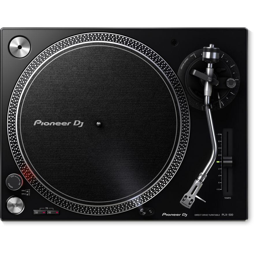 pioneer plx500k black front