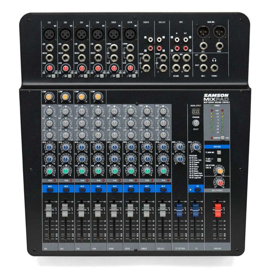 0 SAMSON - MXP 144FX - Mixer Passivo USB con Effetti - 14 canali