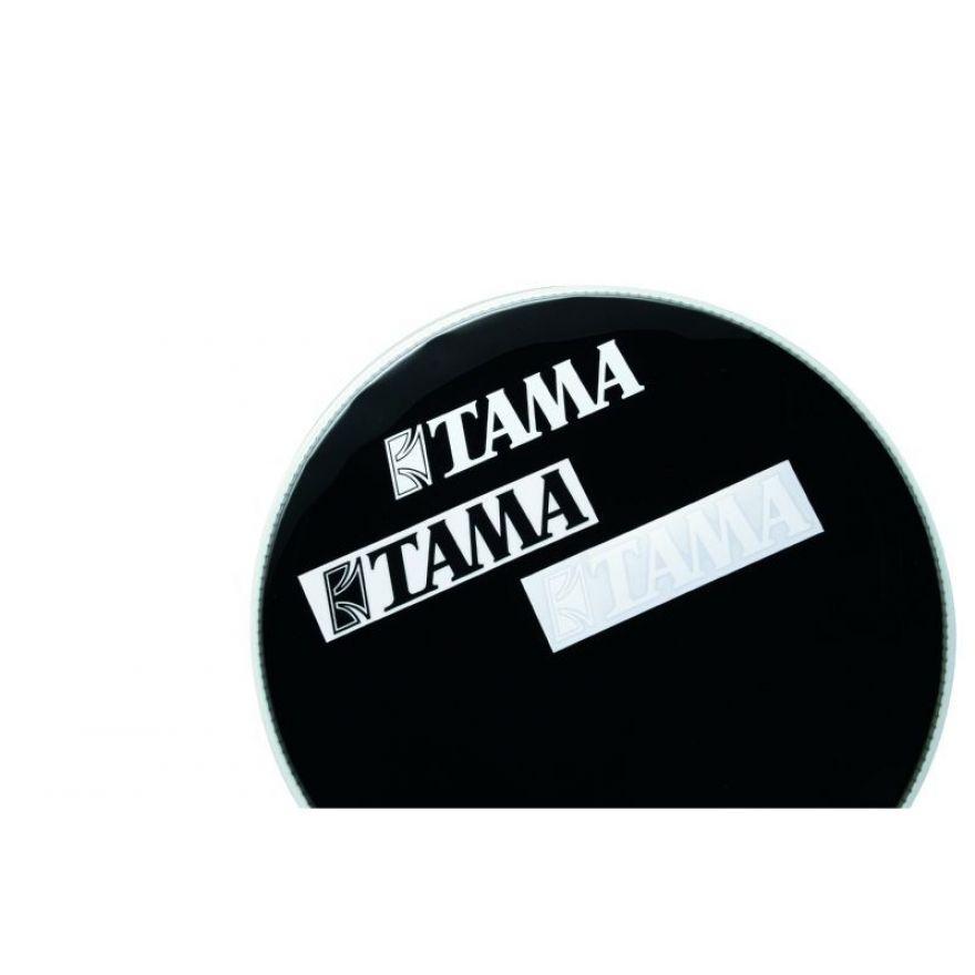 0 TAMA - TLS100-WH - adesivo logo Tama (50mm x 230mm) - bianco