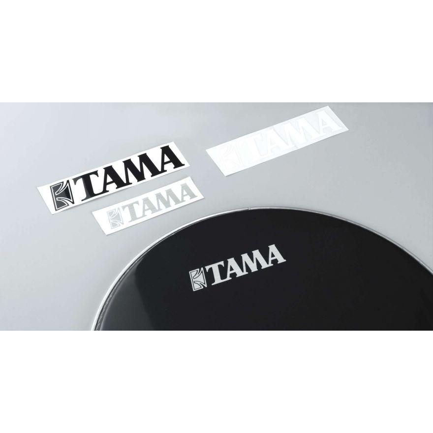 0 TAMA - TLS70-BK - adesivo logo Tama (35mm x 150mm) - nero